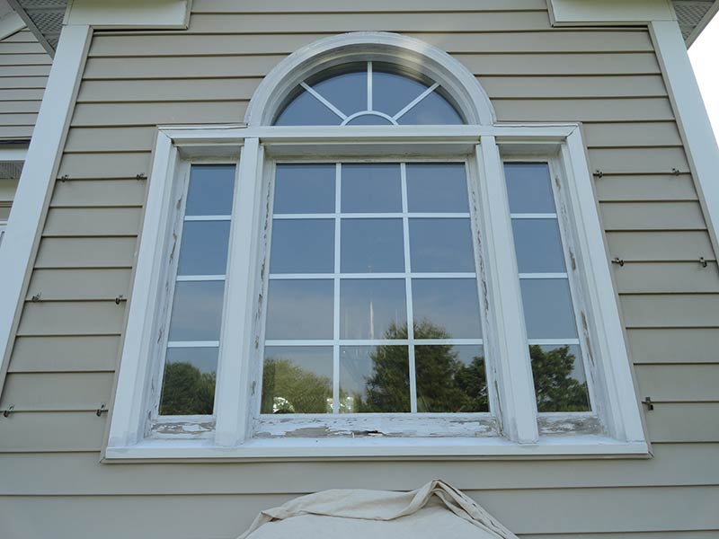 window was capped 10 years before the photo